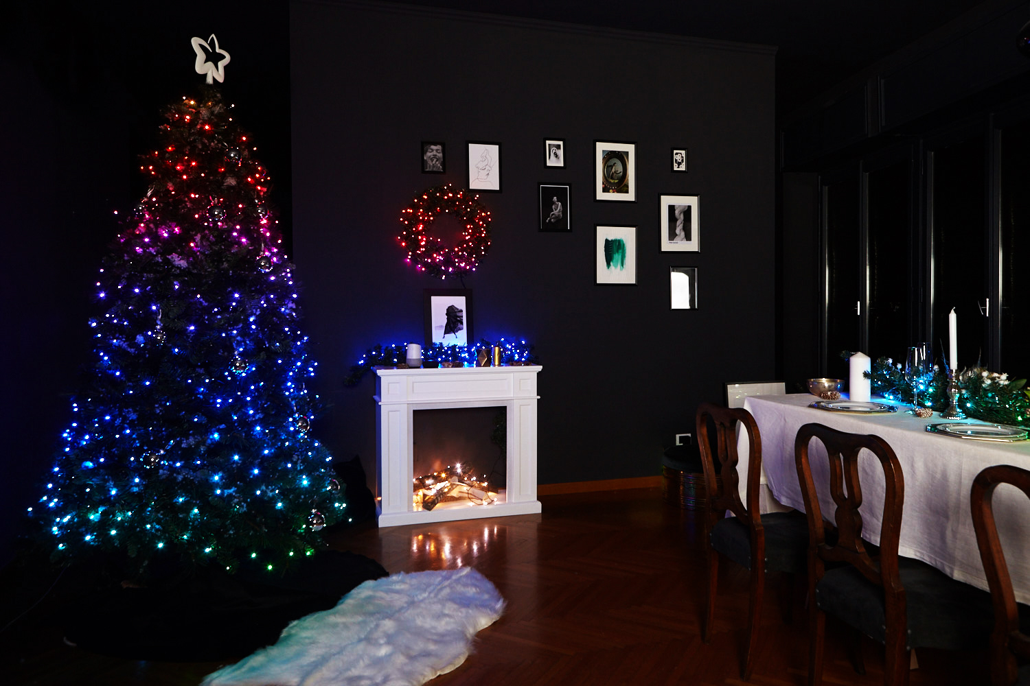 App-Controlled Twinkly RGB Christmas Lights